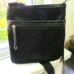 Tommy Hilfiger Black Cross Body Purse